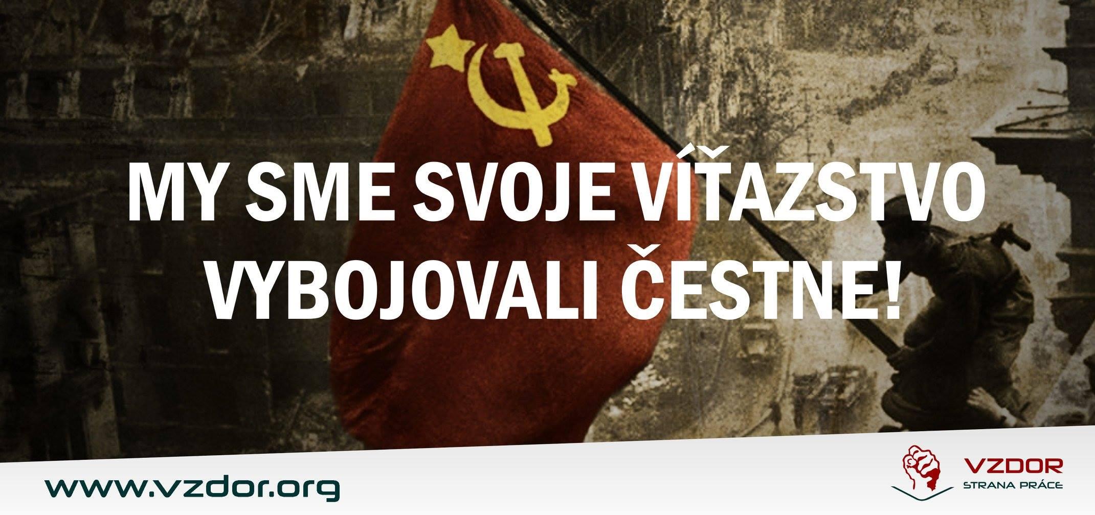 Miestna organizácia Vzdoru-strany práce a KSS na Liptove si uctili víťazstvo nad fašizmom
