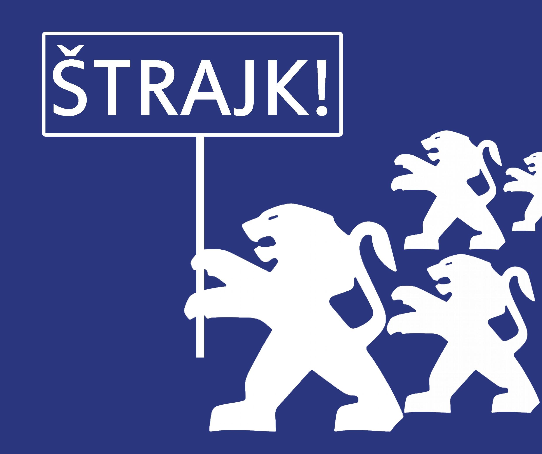 Vzdor – strana práce podporila pracujúcich z PSA Trnava: Takto prebiehalo protestné zhromaždenie