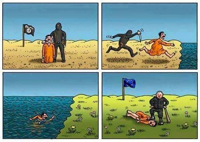 Masovú migráciu spôsobujú západné korporácie a vlády:Nehádžme vinu na ich obete
