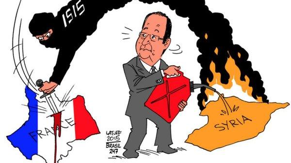 Útoky Islamského štátu upozorňujú na pokrytectvo Západu v boji s terorizmom:Solidarita len s Francúzmi?