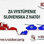 Za vystúpenie Slovenska zo zločineckej organizácie NATO!
