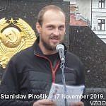 Zhromaždenie v Banskej Bystrici: Čo si o 17. novembri 1989 myslí člen vedenia VZDORu-strany práce Stanislav Pirošík (VIDEO a bohatá FOTOGALÉRIA)